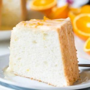 Orangen Angel Food Cake – himmlisch