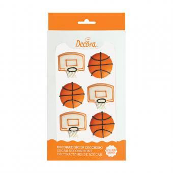 Zuckerdeko Basket handgemacht 3cm