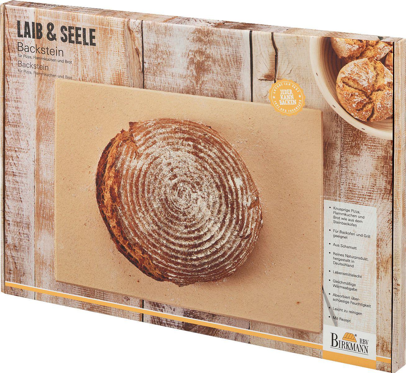 Küchenpunkt Backstein Schamotte Pizzastein online kaufen ~ 01235330_Backstein Schamotte Aus Cordierit